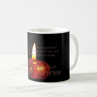 """Life is no brief candle to me. It is sort of a sp Coffee Mug"