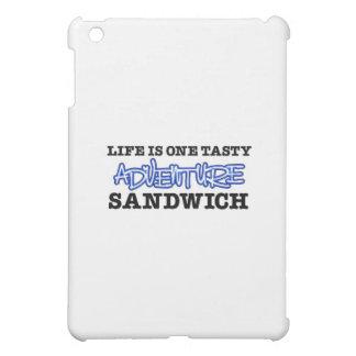 Life Is One Tasty Adventure Sandwich iPad Mini Cases