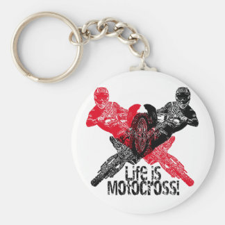 Life is race keychain