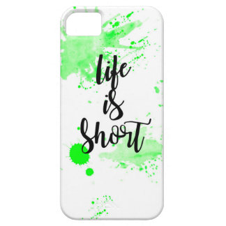 life is short phone case