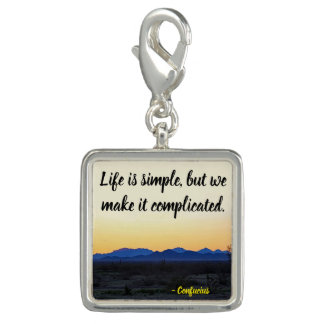 Life is simple charms