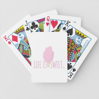 Life Is Sweet Bicycle Playing Cards