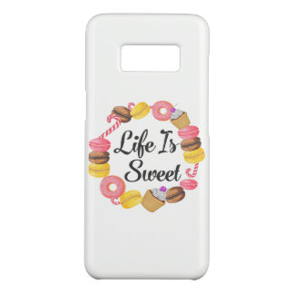 Life is Sweet Case-Mate Samsung Galaxy S8 Case