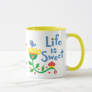 Life is sweet mug