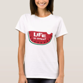 Life is Sweet Watermelon T-Shirt