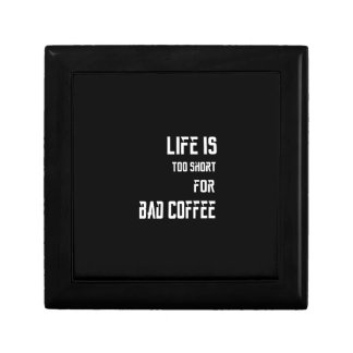 Life is Too Short for Bad Coffee Gift Box