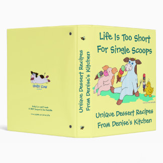 Life Is Too Short For Single Scoops Binder
