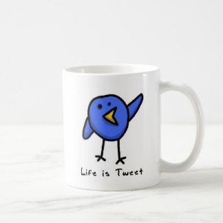 """""""Life is Tweet"""" Mug"""