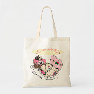 Life is uncertain, eat dessert first! tote bag