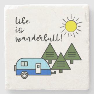 life is wanderfull! coasters