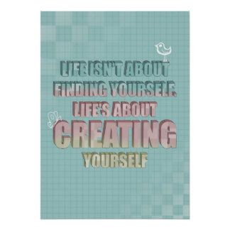 Life Quote Posters Enchanting Beautiful Life Quotes Posters  Zazzle Canada