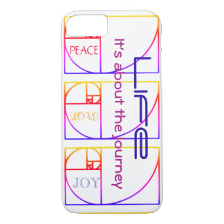 Life - It's about the Journey iPhone 8/7 Case