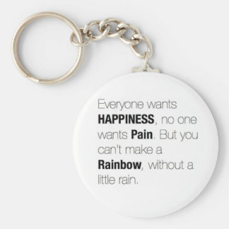 Life Lesson Quote. Keychain