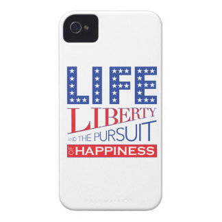 Life, Liberty and the Pursuit of Happiness iPhone 4 Cases