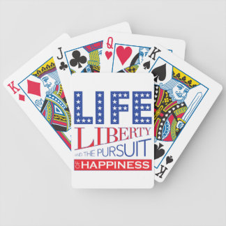 Life, Liberty and the Pursuit of Happiness Poker Deck