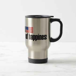 Life Liberty Pursuit of Happiness Travel Mug