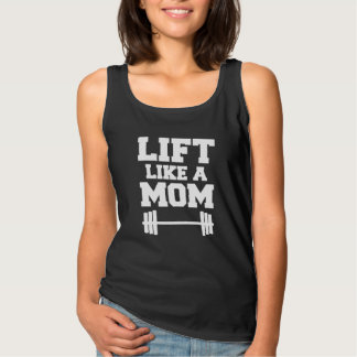 Life Like a Mom Funny fit mom tank top