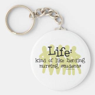 Life - Like Herding Nursing Students Keychain