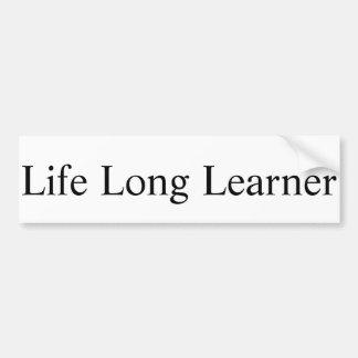 Life Long Learner Sticker