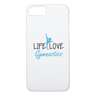 Life Love Gymnastics Gymnastic Gymnast Cute Gift Case-Mate iPhone Case