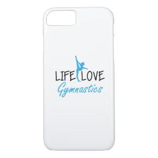 Life Love Gymnastics Gymnastic Gymnast Cute Gift iPhone 8/7 Case