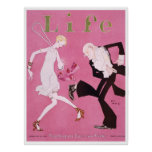 Life Magazine Cover Flapper 1926 Poster