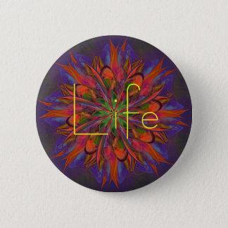 Life Mandala 2 Inch Round Button