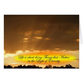 Life Matters Card