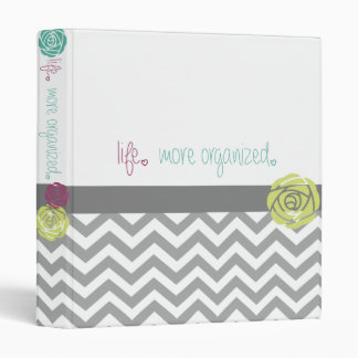 Life. More Organized.  Home Management Binder 1""