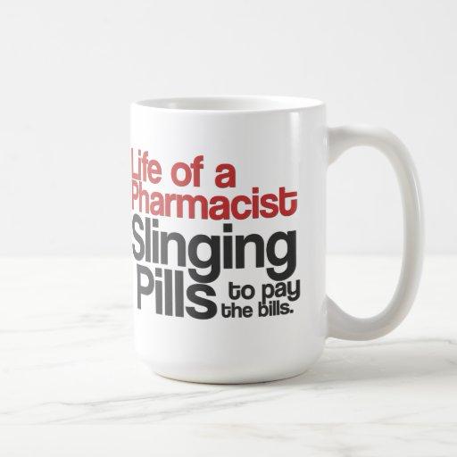 Life of a Pharmacist Coffee Mug (Red)