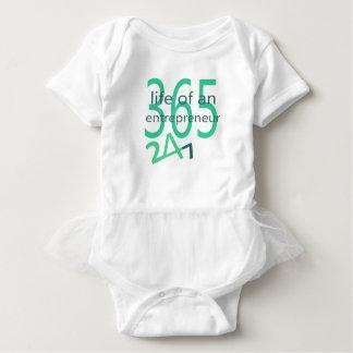 Life of an entrepreneur baby bodysuit
