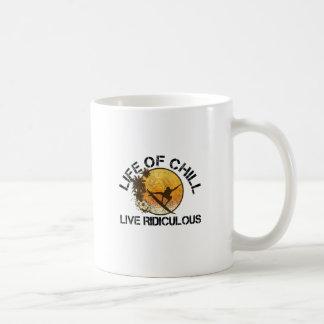life of chill coffee mug