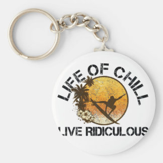 life of chill keychain