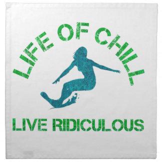 life of chill napkin