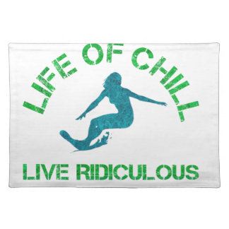 life of chill placemat
