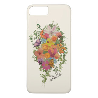 Life of flowers design personalized Stella iPhone 8 Plus/7 Plus Case