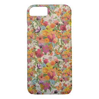 Life of flowers pattern by Lo Lah Studio iPhone 8/7 Case