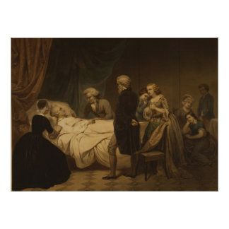 Life of George Washington The Christian Death Poster