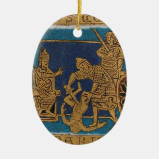 Life of Jesus Ceramic Ornament