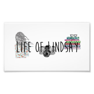 Life of Lindsay Post card Photo Print