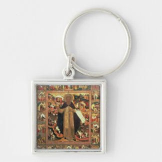Life of St. Sergius of Radonesh, 1640s Keychain