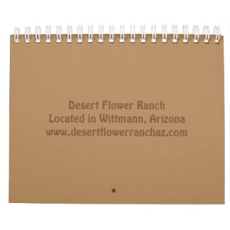 Life on a Ranch Calendar