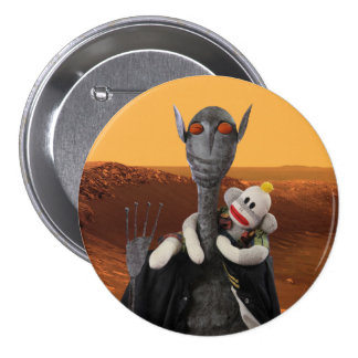 Life on Mars 3 Inch Round Button