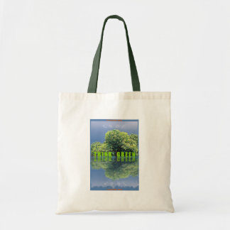 LIFE ON PLANET EARTH BUDGET TOTE BAG