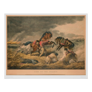 Life on Prairie: Trapper's Defence (0879A) Poster