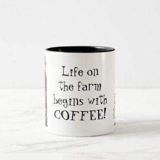 Life On The Farm mug