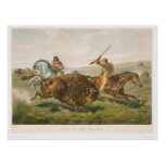 Life on the Prairie: The Buffalo Hunt (0878A) Poster