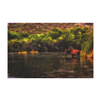 Life on the Salt River Canvas
