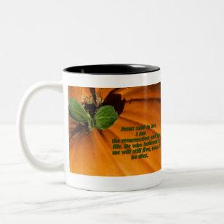 Life Out of Death Two-Tone Coffee Mug