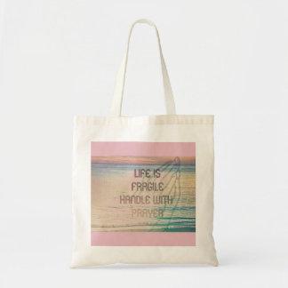 Life Prayer Pastel Bag